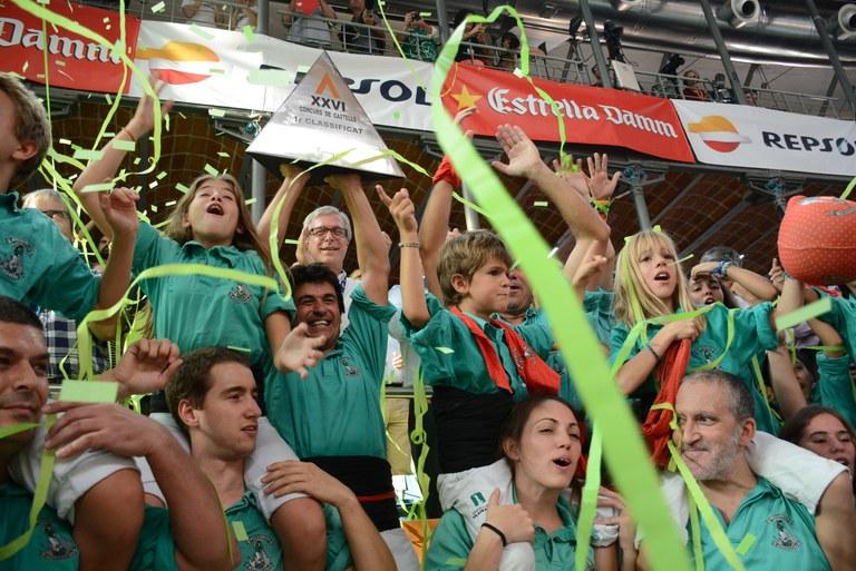 Els Castellers de Vilafranca guanyen el XXVI Concurs de Castells