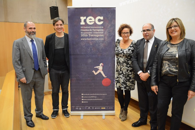 Es presenta la 16a edició del Festival Internacional de Cinema de Tarragona REC