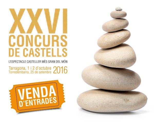 Exhaurides les localitats per a la jornada de diumenge del XXVI Concurs de Castells
