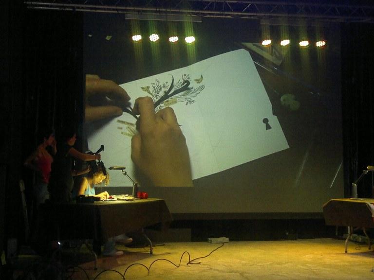 Il·lustradors versus escriptors, cara a cara creatiu a la Nit de la Il·lustració