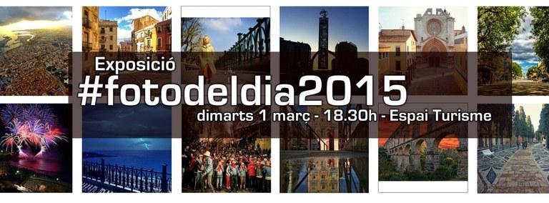 Inauguració de '#Fotodeldia 2015' a l'Espai Turisme