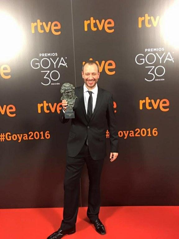L'Ajuntament felicita el director tarragoní Jose Luis Montesinos pel Goya al millor curtmetratge