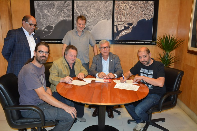 L'Associació de Músics i la Fundació SGAE signen un conveni de col·laboració