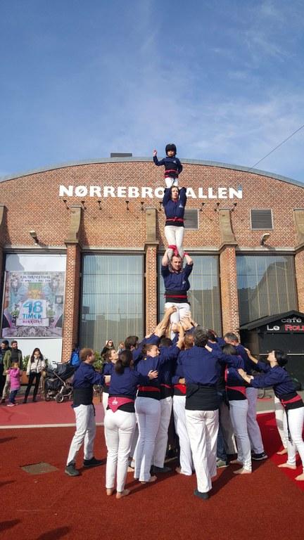 Tres colles estrangeres actuaran a Tarragona a la prèvia del Concurs de Castells