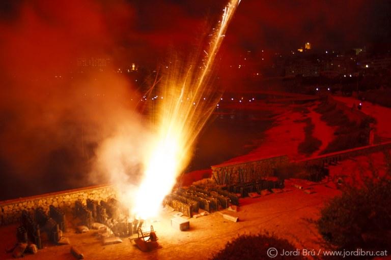 El fotògraf Jordi Brú ens mostra 'Els focs des de dins'