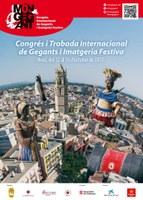 Els Gegants Moros i Negritos de Tarragona participen al 'Món Gegant'