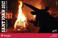Tarragona celebra Sant Joan amb els actes tradicionals de foc, música i castells