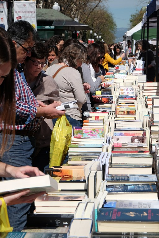Tarragona disposarà de 209 parades de Sant Jordi