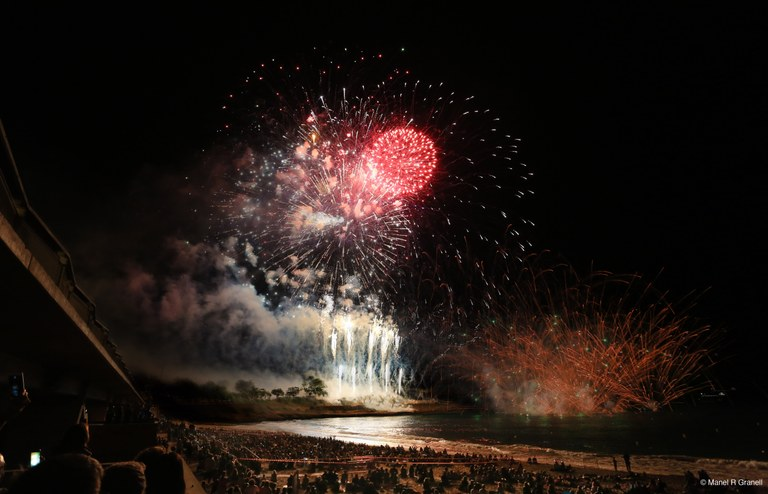 La pirotècnia Accitana María Angustias guanya el 27è Concurs Internacional de Focs Artificials Ciutat de Tarragona