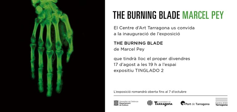El Centre d'Art obre les portes a l'obra de Marcel Pey amb 'The Burning Blade'