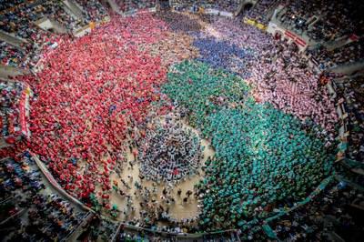 El Concurs de Castells de Tarragona presenta les colles que participaran en aquesta edició