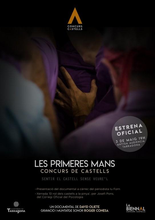 Estrena del documental 'Les primeres mans' amb fotografies de David Oliete