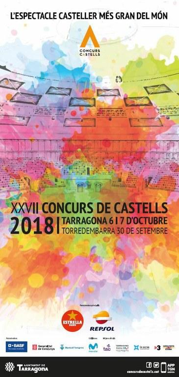 Exhaurides les entrades del Concurs de Castells de la jornada de diumenge 7 d'octubre en 1 hora i 44 minuts