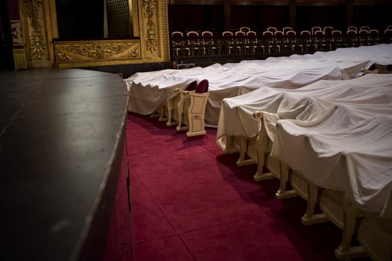 """L'exposició """"Miguel de Cervantes o el desig de viure"""" homenatja l'escriptor a partir de les fotografies de José Manuel Navia"""