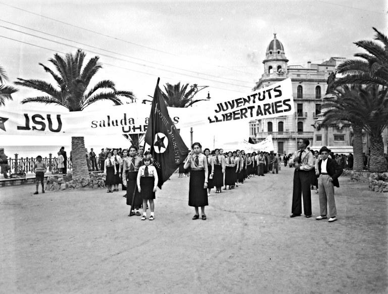 """Presentació del llibre i de l'exposició """"Revolució i guerra civil a Tarragona, imatges d'Hermenegild Vallvé"""""""