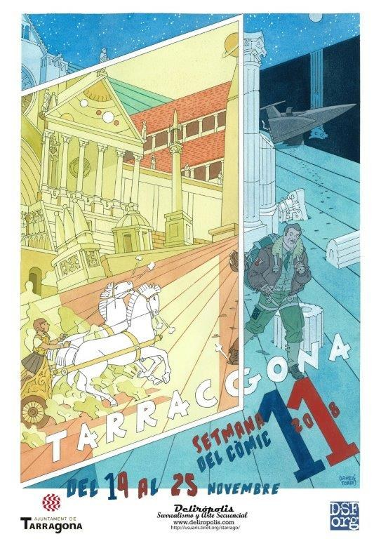 Presentada l'onzena edició de la Setmana de Còmic de Tarragona