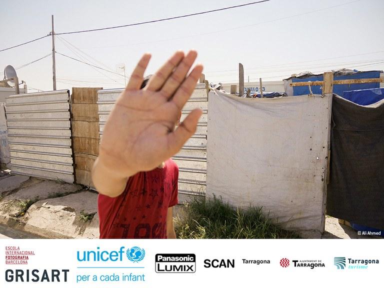 SCAN Tarragona inaugura una mostra per conscienciar sobre la vida dels nens i joves en els camps de refugiats i desplaçats de l'Iraq