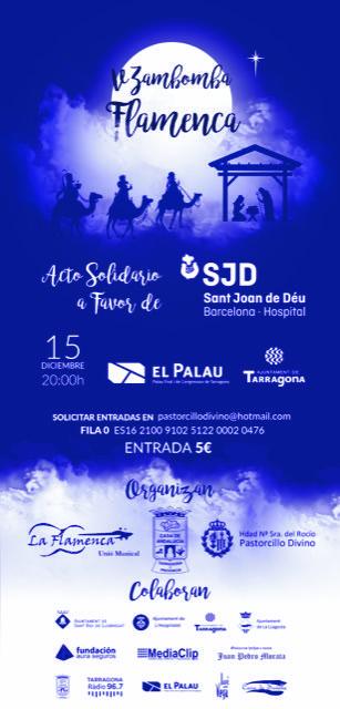 Zambombá Flamenca en benefici de la recerca del càncer infantil de l'Hospital Sant Joan de Déu