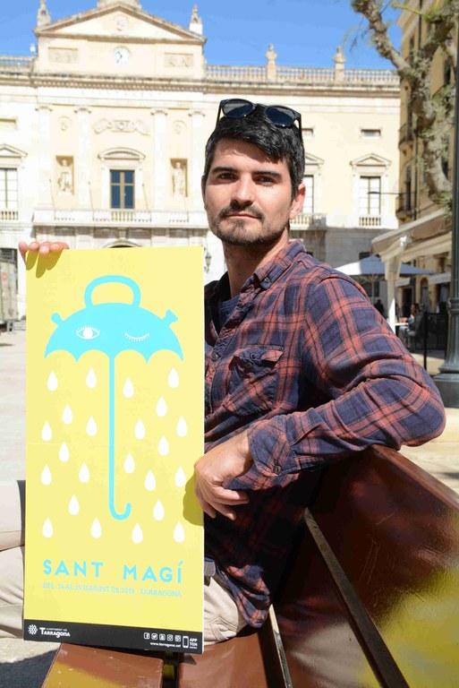 Aitor Pombo, guanyador del concurs d'imatge de les Festes de Sant Magí 2019
