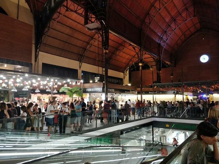 Dissabte d'activitats culturals i festives al Mercat Central