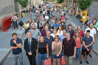 L'alcalde, Pau Ricomà, inaugura les festes del barri del Port pronunciant el pregó