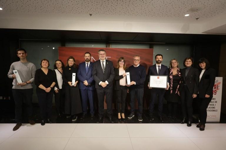 L'Associació Catalana de Protocol i Relacions Institucionals premia el Concurs de Castells de Tarragona