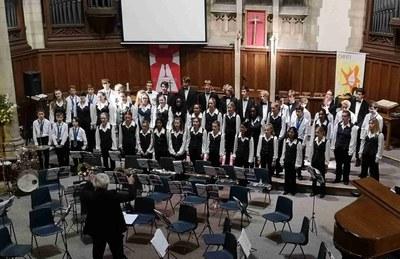 La coral britànica Southend Choir ofereix aquest dissabte tres concerts a la ciutat