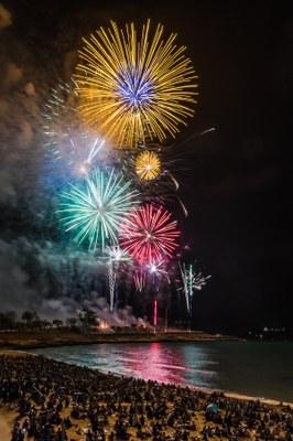 La Pirotecnia del Mediterráneo guanya el 29è Concurs Internacional de Focs Artificials Ciutat de Tarragona