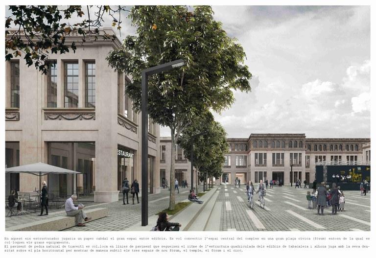 La Tabacalera es transformarà en el nou centre neuràlgic cultural de la ciutat