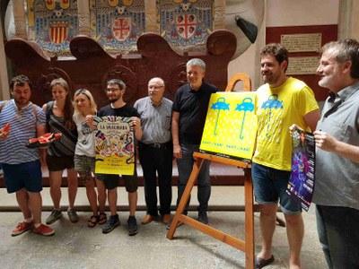 Sant Magí estrena l'obertura a la ciutadania dels balcons municipals per gaudir de les diades castelleres de la ciutat
