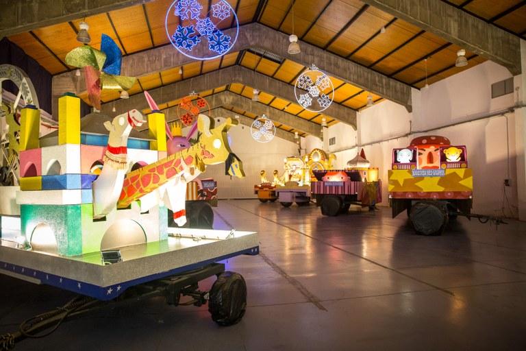 Ja es pot visitar l'exposició de carrosses dels Reis d'Orient
