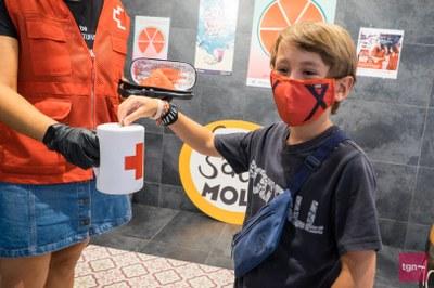 La sindriada recapta 312 € per a la campanya d'aliments de la Creu Roja
