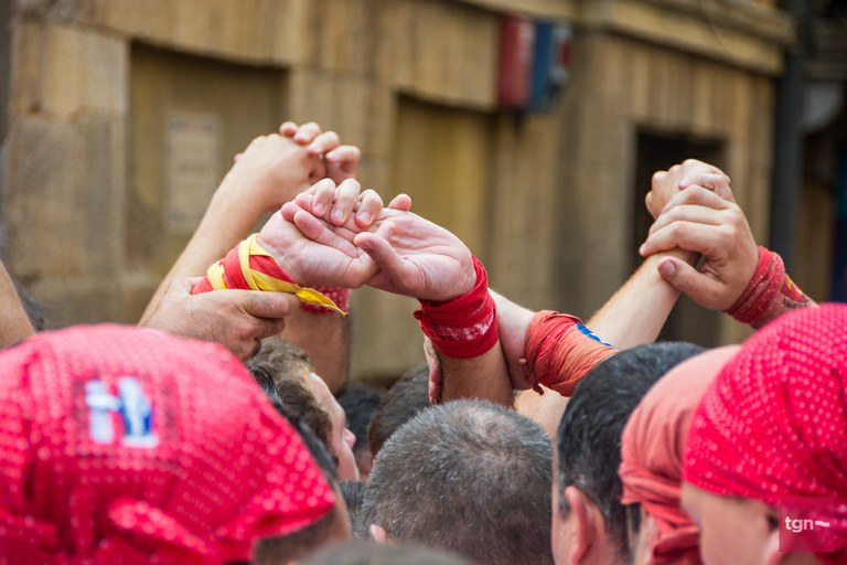 L'Ajuntament de Tarragona es compromet amb les colles castelleres a mantenir l'activitat en la mesura del possible