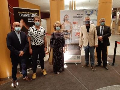 L'alcalde i la consellera de Cultura inauguren el Festival Internacional de Teatre de Tarragona