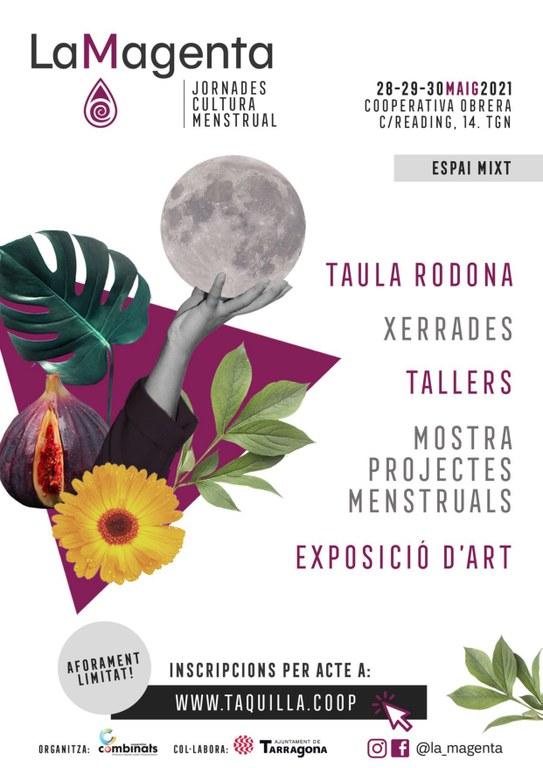 Arriben les I Jornades de Cultura Menstrual de Tarragona