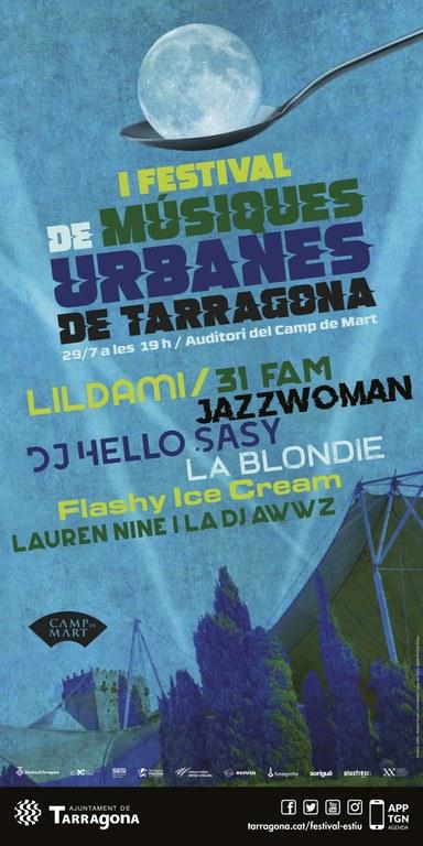 El primer Festival de Músiques Urbanes arriba demà al Camp de Mart