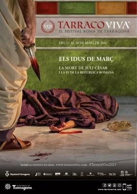 La mort de Juli Cèsar, protagonista de Tarraco Viva 2021