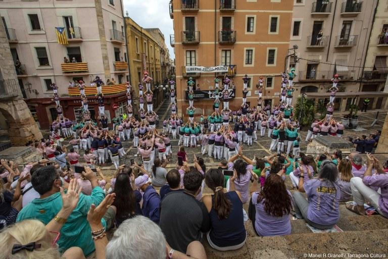 L'Ajuntament i les colles castelleres de la ciutat activen els preparatius per l'acció castellera del proper 23 de setembre, dia de Santa Tecla