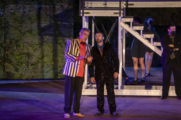 L'assaig general de Rigoletto, molt ben rebut per part del públic assistent