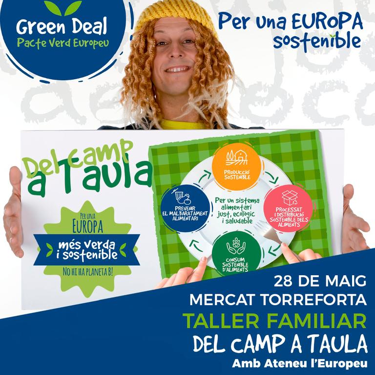 """L'estratègia europea """"Del camp a taula"""" serà la protagonista del bibliomercat de Torreforta"""