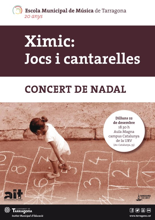 """Concert de Nadal """"Ximic: Jocs i cantarelles"""""""