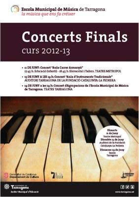 Concerts de final de curs de l'Escola Municipal de Música de Tarragona