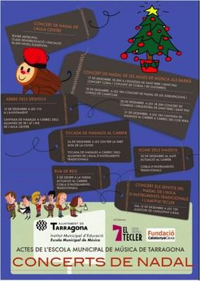 Viu el Nadal amb l'Escola Municipal de Música de Tarragona!
