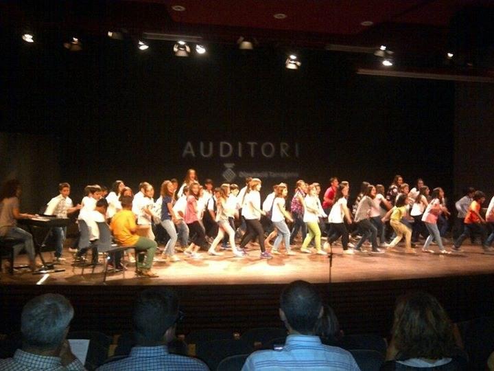 Cloenda de les Pinzellades Musicals del curs 2014-15