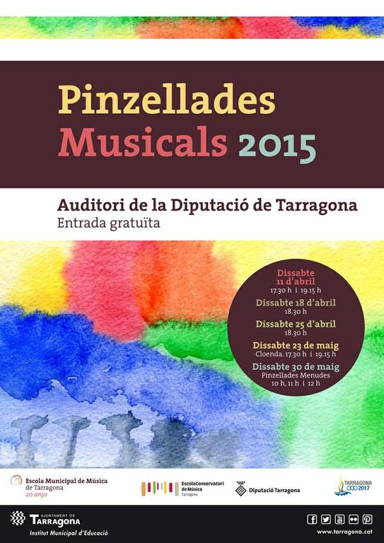 Comencen les Pinzellades Musicals 2015