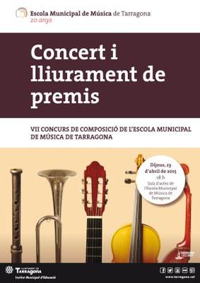 Dijous, concert de Sant Jordi de l'EMM