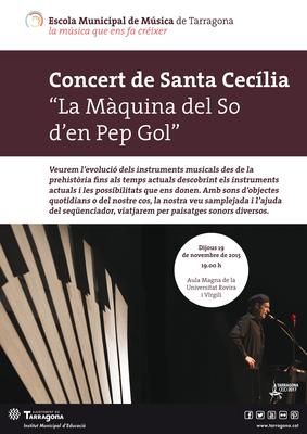 Concert de Santa Cecília: la màquina del so.