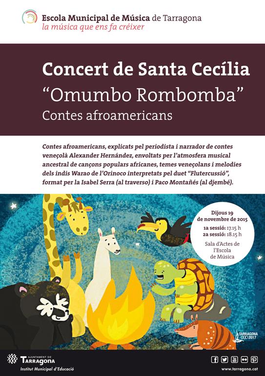 Concert de Santa Cecília pels més petits.