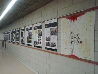 El Centre Cívic Municipal de Sant Pere i Sant Pau acull l'exposició dels 20 anys de l'Escola.
