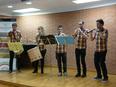 La Virolla, protagonistes del primer concert del Cicle Arrels